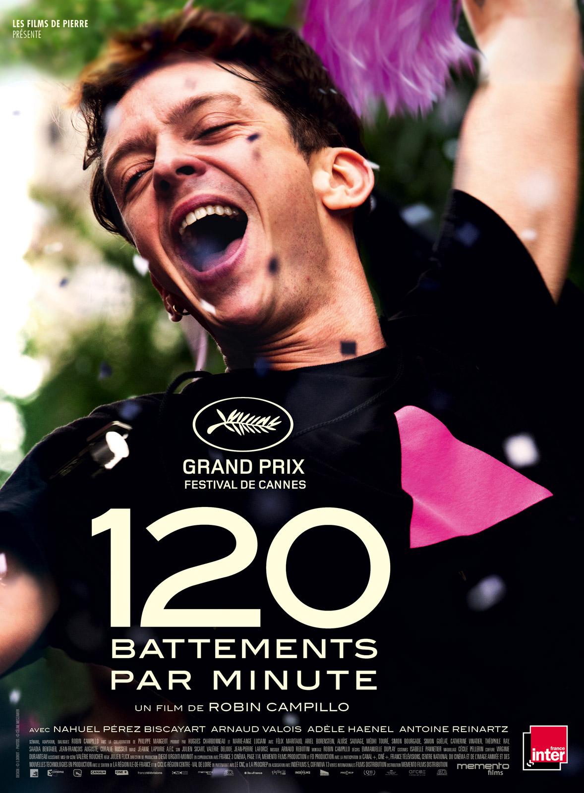 영화 '120bpm'의 포스터.