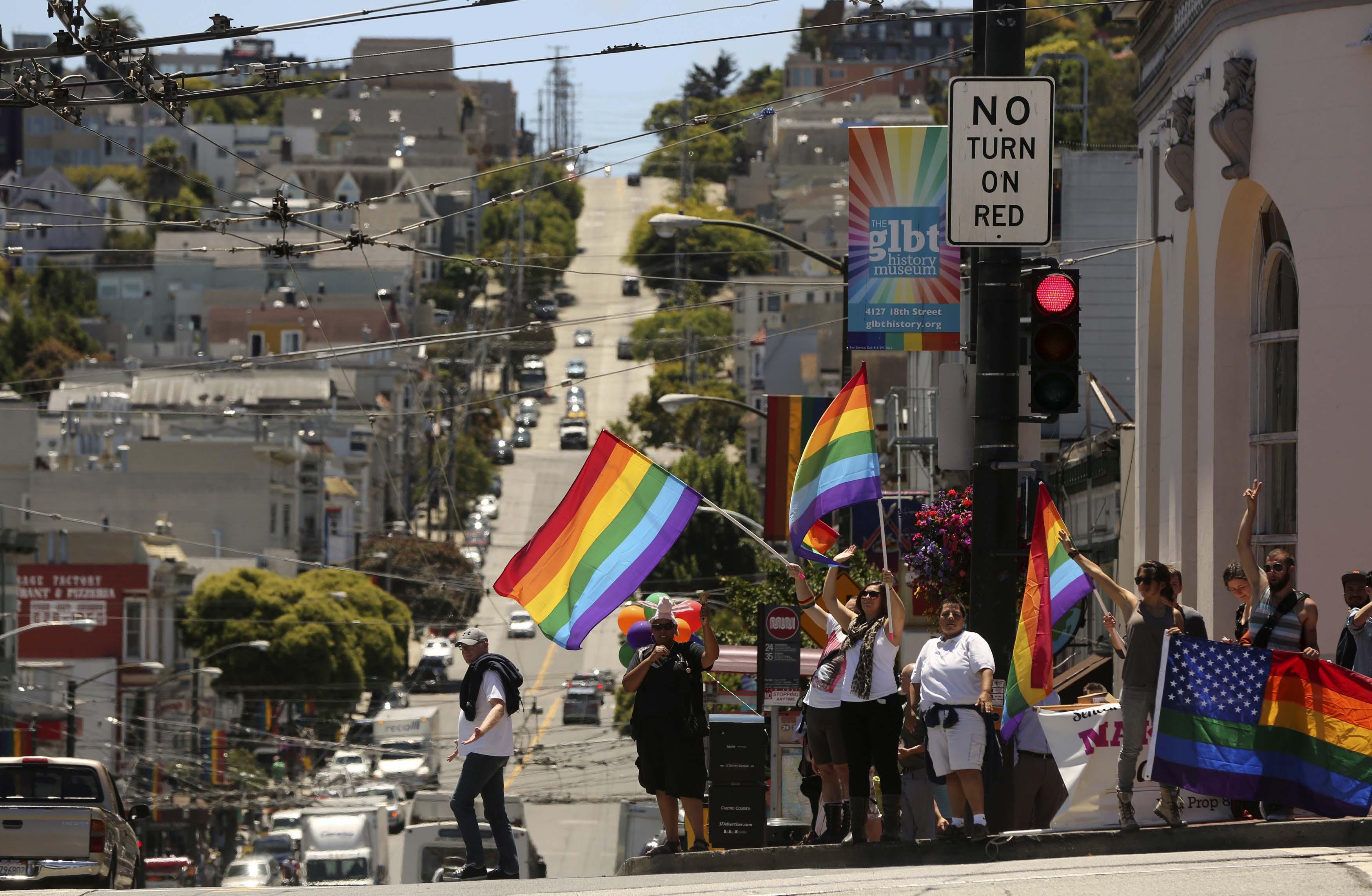그림7. 미국 센트란시스코에 위치한 대표적인 게이 District, Castro District