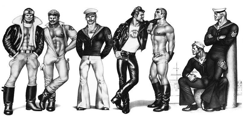 Art érotique masculin vintage